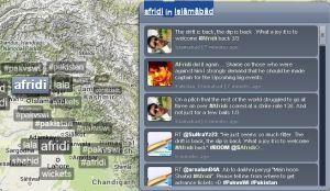 Afridi in Islamabad