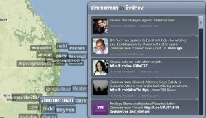 Tweets About the Zimmerman Case