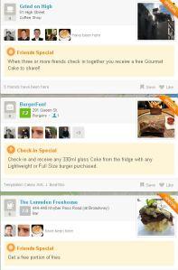 Foursquare Auckland Specials