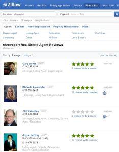 Shreveport Real Estate Agent Reviews