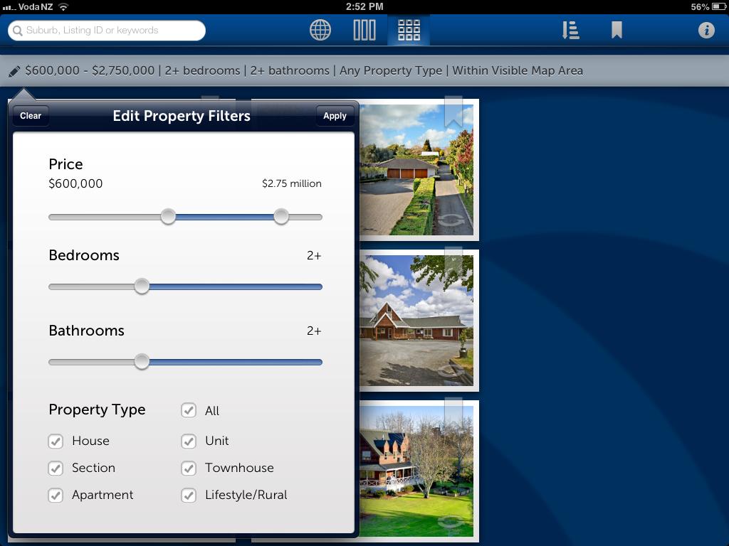 Property Filter