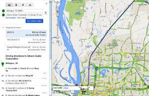 Commuting in Memphis