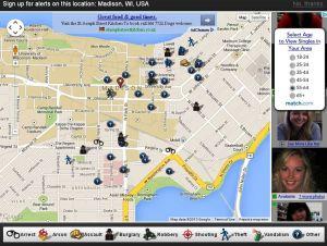 Madison Wisconsin Crime Map