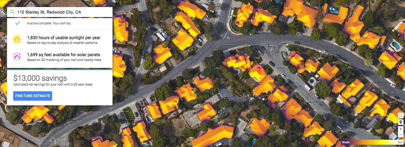 Google Maps can now tell you if it's worth installing solar panels on your roof | The Verge