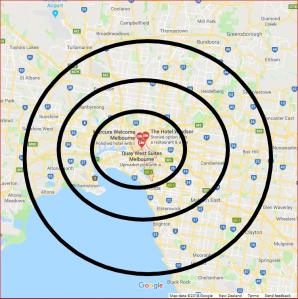 Melbourne bullseye