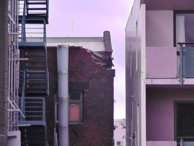 Earthquake Damaged Apartment in Christchurch